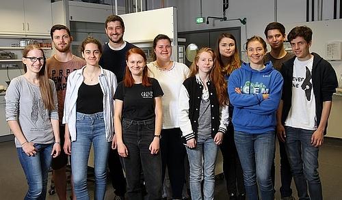 Grunalge Zersetzt Plastik Studentisches Team Der Tu Kaiserslautern Punktet Bei Igem Wettbewerb Vbio